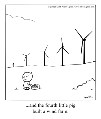 Panel Cartoons 12/11/15 - The Forth Little Pig